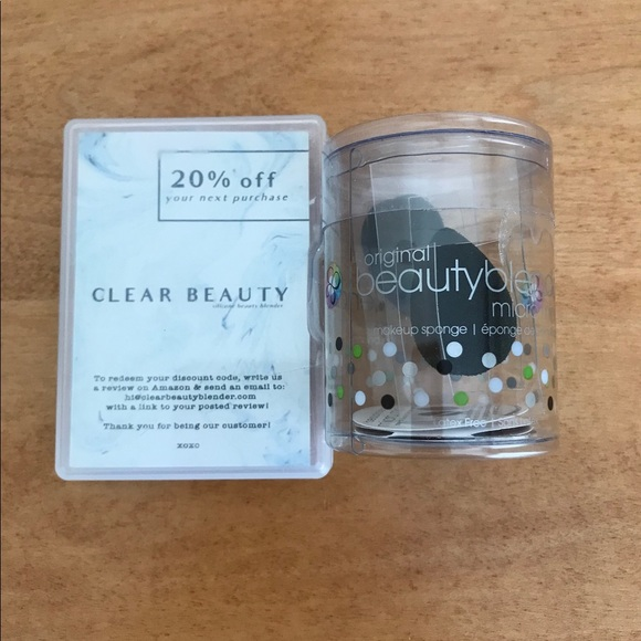 Beauty Blender Mini Duo and a Silicone Sponge  NWT